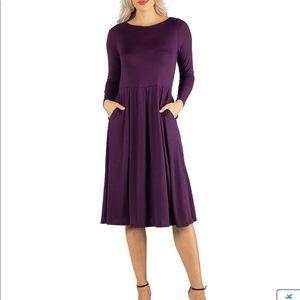 Purple dress: Medium